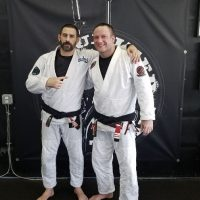 Mark Reding Received his 2nd Degree Black Belt in BJJ